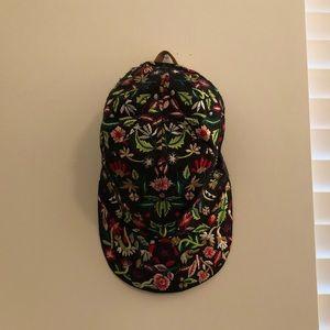 Zara floral embroidered cap hat